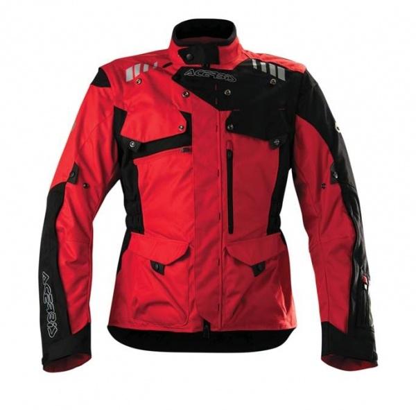 Acerbis presenta la chaqueta Adventure 2016 en color rojo