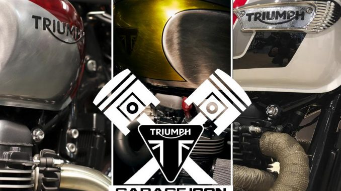 Triumph Garage Icon2020