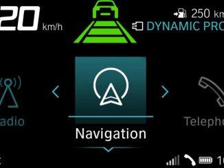 BMW Motorrad Control de Crucero-Activo