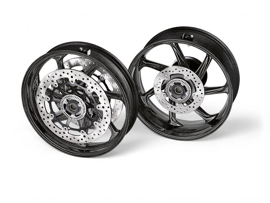 BMW m performance carbon wheels