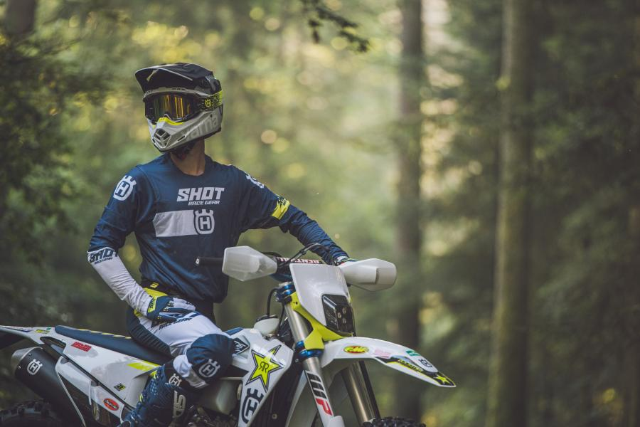 HUSQVARNA MOTORCYCLES FACTORY REPLICA COLLECTION 2020 BY SHOT AVAILABLE NOW