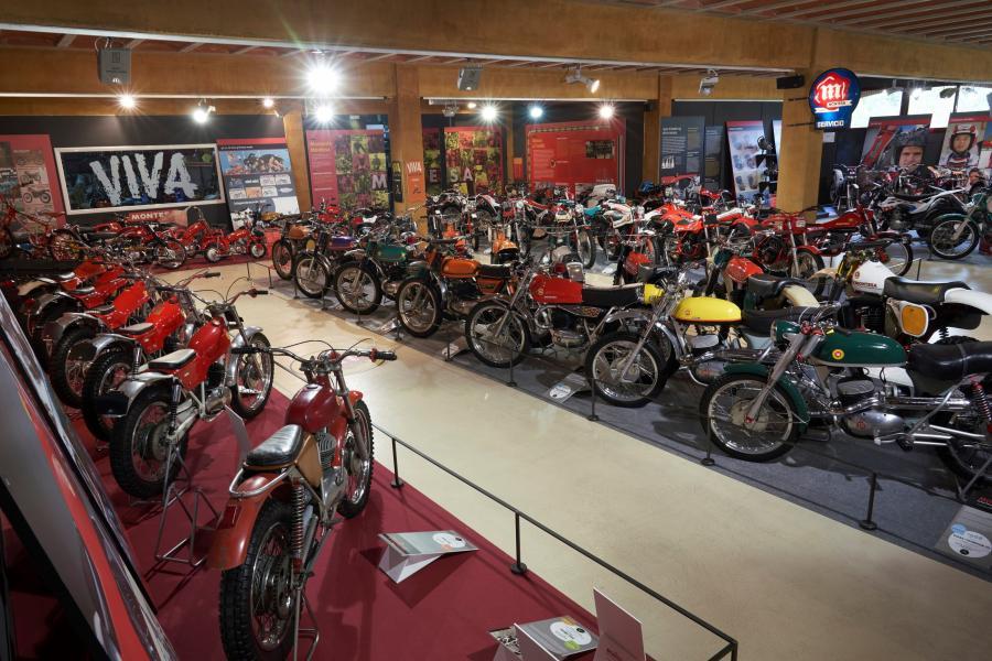 Museu de la Moto de Bassella Montesa