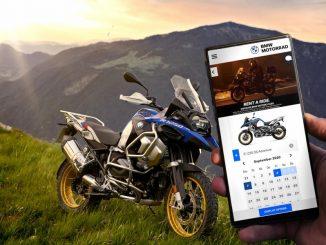 """Rent a Ride el servico de """"paseos"""" de BMW Motorrad"""