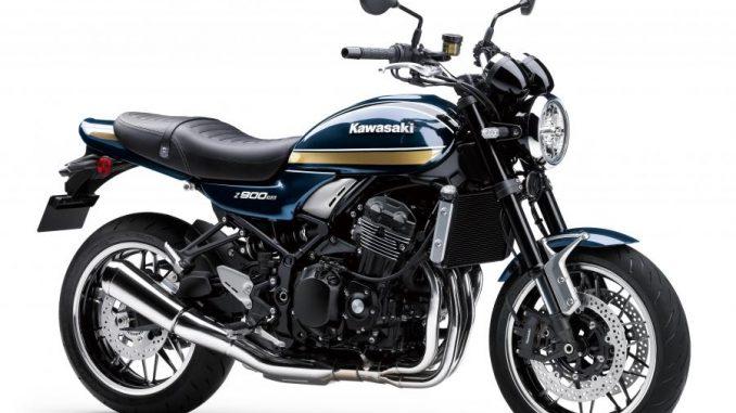 Novedades en la Z900RS de Kawasaki
