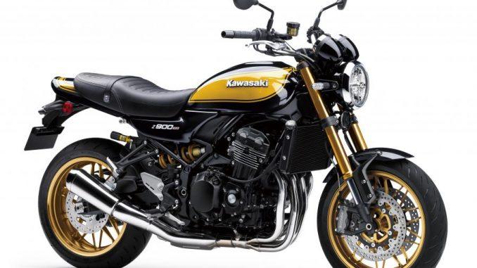 Kawasaki renueva la Z900RS SE