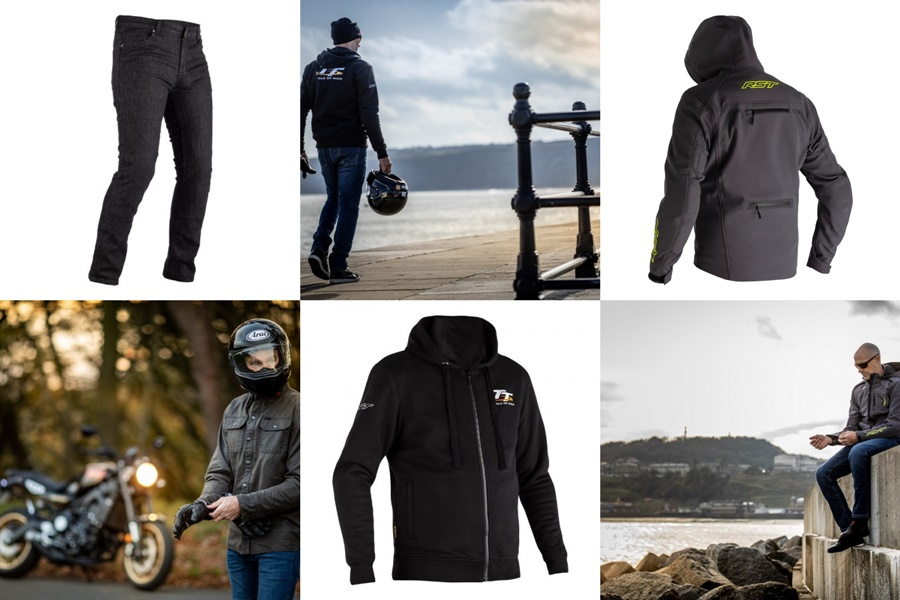 RST presenta su colección de ropa reforzada con Kevlar