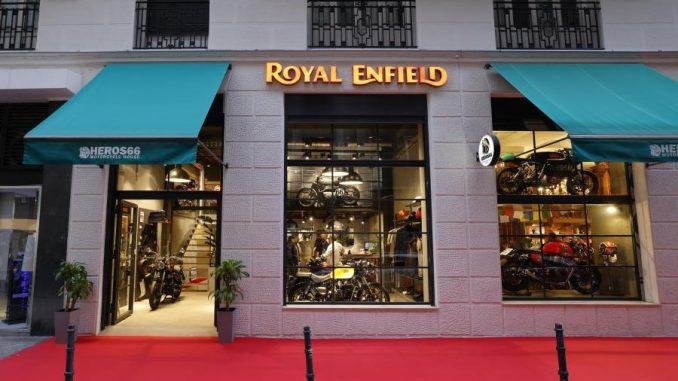 Royal Enfield estrena nueva tienda Concept Store en Madrid