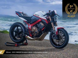 Ya conocemos a los ganadores del Concurso European Honda Customs 2021