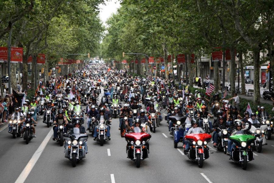 Este Domingo vuelve a Madrid el Desfile Harley-Davidson KM0[1]